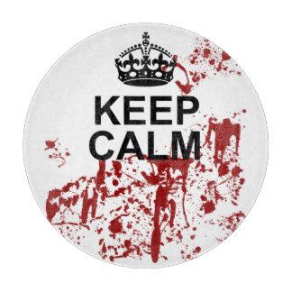 Keep Calm Parody Cutting Board