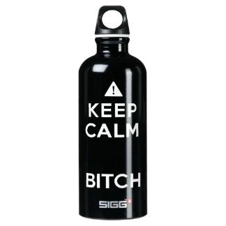 Keep Calm Parody Funny Bottle