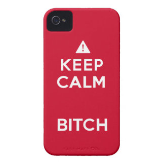 Keep Calm Parody Funny iPhone4 Case