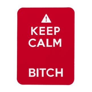 Keep Calm Parody Funny Magnet