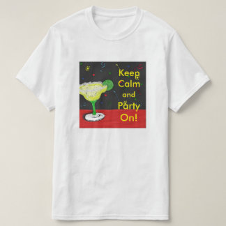 Keep Calm Party On T-Shirt