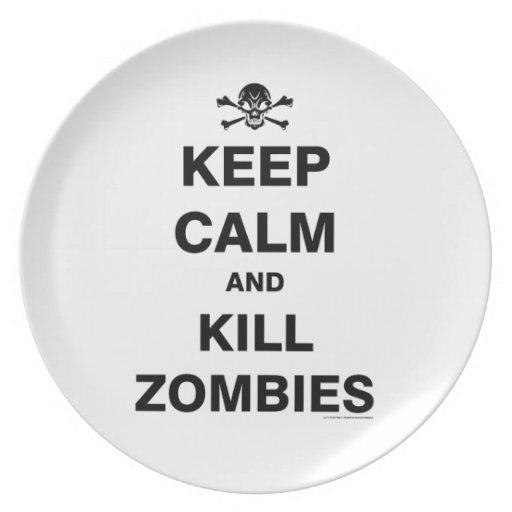 Keep Calm Party Plates