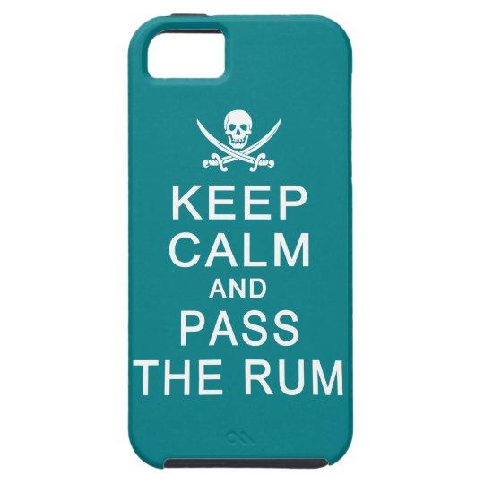 Keep Calm & Pass The Rum iPhone Case-Mate