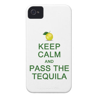 Keep Calm & Pass The Tequila iPhone 4 Case-Mate