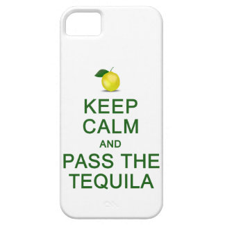 Keep Calm & Pass The Tequila iPhone Case-Mate iPhone SE/5/5s Case