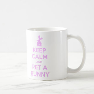 Keep Calm Pet a Bunny Mug