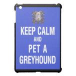 Keep Calm Pet Greyhound Cover For The iPad Mini