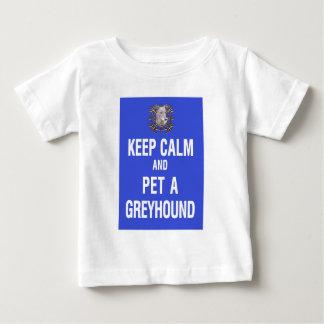 Keep Calm Pet Greyhound Tshirts