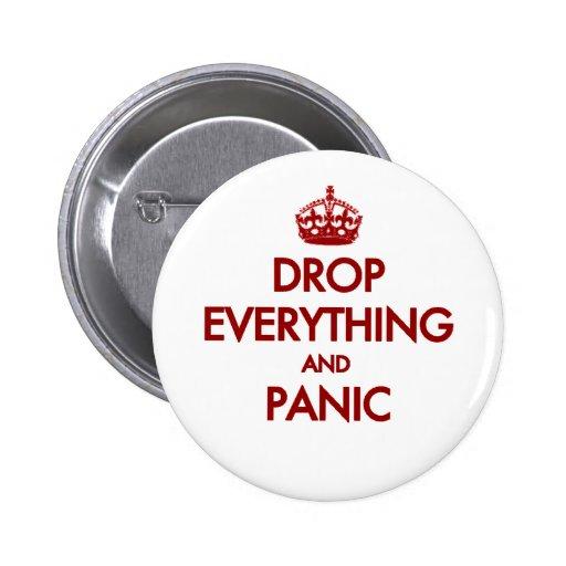 Keep Calm? Pfft! 2 Inch Round Button