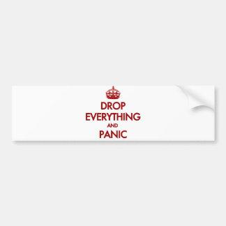 Keep Calm? Pfft! Bumper Sticker