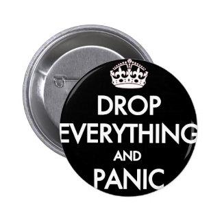 Keep Calm? Pfft! Button