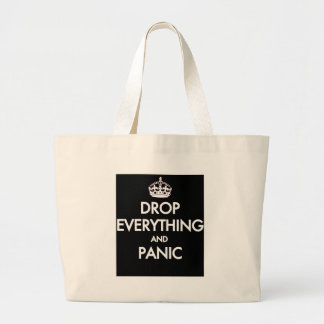 Keep Calm? Pfft! Large Tote Bag