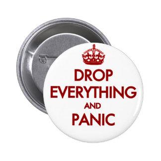 Keep Calm? Pfft! Pinback Button
