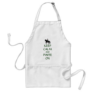Keep Calm & Piaffe On Dressage Adult Apron