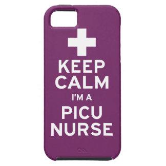 Keep Calm PICU Nurse iPhone SE/5/5s Case