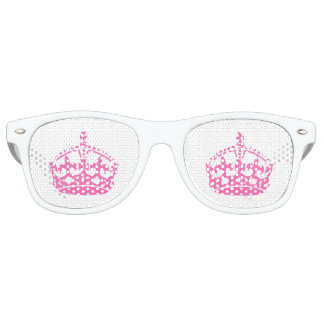 Keep Calm Pink Crown Party Shades