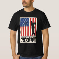 Keep Calm & Play Golf T-Shirt