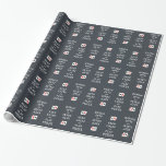 KEEP CALM & PLAY POKER custom wrapping paper