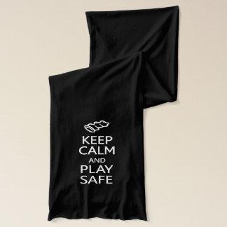 Keep Calm & Play Safe scarfs Scarf