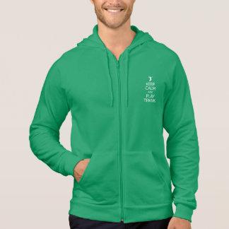 Keep Calm & Play Tennis hoodie - choose color