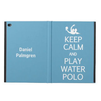 Keep Calm & Play Water Polo custom cases