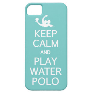 Keep Calm Play Water Polo custom iPhone case Case For The iPhone 5