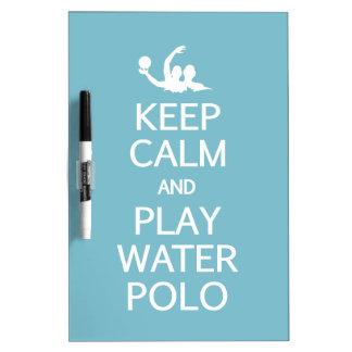 Keep Calm & Play Water Polo custom message board