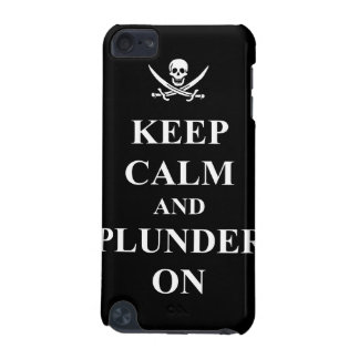 Keep calm & plunder on iPod touch (5th generation) cover