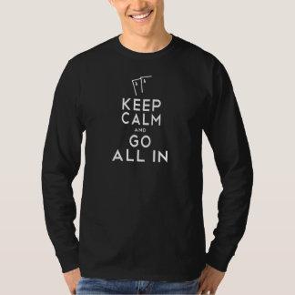 Keep Calm Poker Shirt