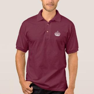Keep Calm Polo Shirt with crown