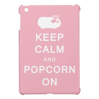 Keep Calm & Popcorn On iPad Mini Cases