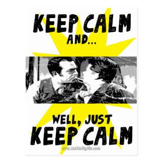 Keep Calm... Postcard