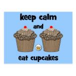 keep calm postcards