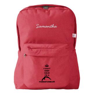 Keep Calm Powertumbler American Apparel™ Backpack