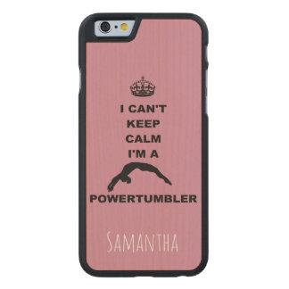 Keep Calm Powertumbler wood iphone6 case