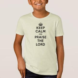 Keep Calm & Praise The Lord T-Shirt