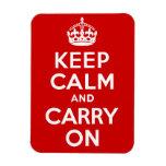 Keep Calm Premium Magnet