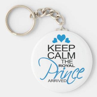 Keep Calm Prince George Arrived Key Chains