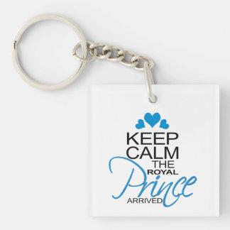 Keep Calm Prince George Arrived Acrylic Keychain