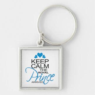 Keep Calm Prince George Arrived Key Chain