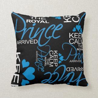 Keep Calm Prince George Arrived Throw Pillow