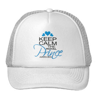 Keep Calm Prince George Arrived Trucker Hat