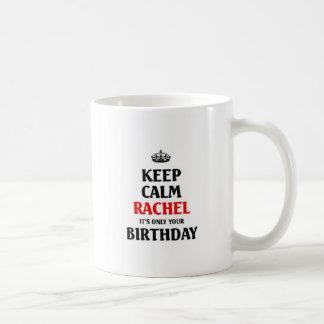 Keep calm Rachel Coffee Mugs