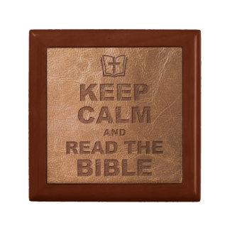 Keep Calm Read The Bible Gift Box