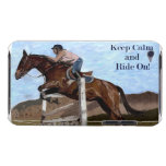 Keep Calm & Ride On! Horse Jumper Case-Mate Case iPod Touch Cases