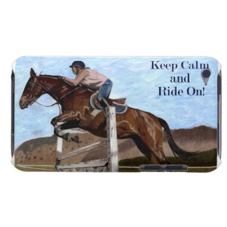 Keep Calm & Ride On! Horse Jumper Case-Mate Case