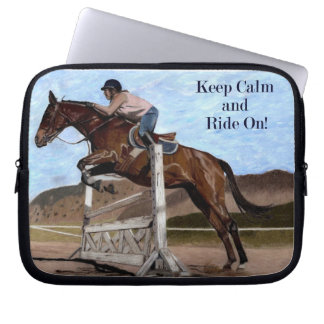 Keep Calm & Ride On! Horse Jumper Sleeve