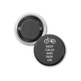 Keep Calm Ride On Magnet
