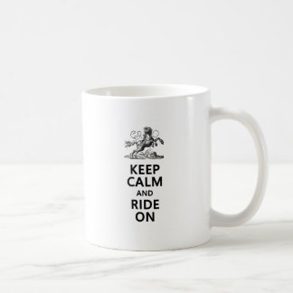 Keep Calm & Ride On Mugs