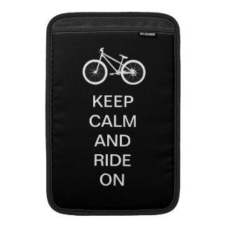 Keep Calm Ride On Sleeve For MacBook Air